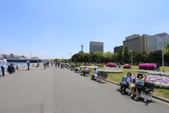 Yamahita Kouen Park 山下公園