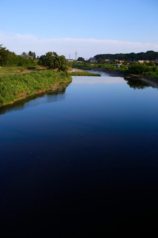 narrow river to big water