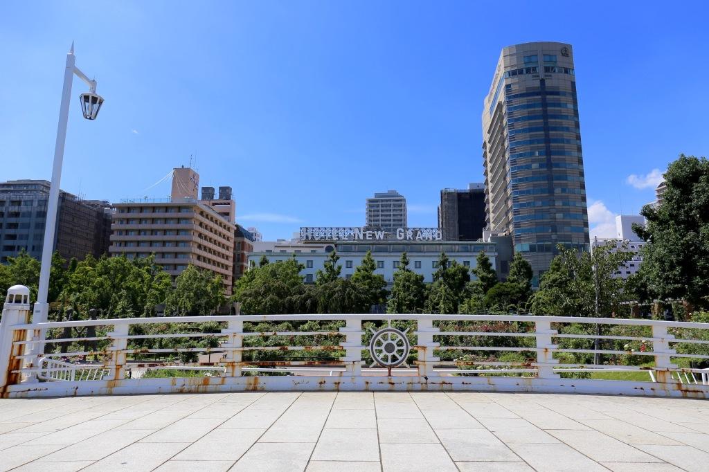 The Hotel New Grand in Yokohama, Japan.